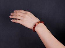 Sunyata@ Lobular Red Sandalwood Bracelets 8 * 9mm Barrel Beads Lady Bracelets