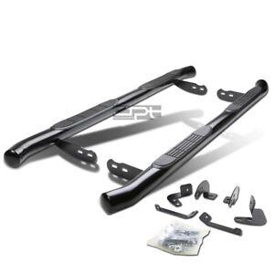 "Fit 01-07 Toyota Highlander/09 Lexus Rx Black 3""Side Step Nerf Bar Running Board"