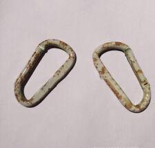 Steel Hole Key Ring Key Chain