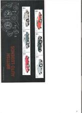 2013  ROYAL MAIL PRESENTATION PACK BRITISH AUTO LEGENDS INCLUDING MINI SHEET