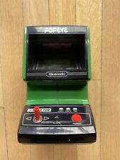 NINTENDO TABLE TOP POPEYE ELECTRONIC GAME IN WORKING CONDITION w/BATTERY COVER