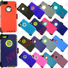 For iPhone 6 / 6S Case w/ (Clip fits Otterbox Defender Series) & Built in Screen