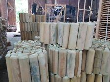 Rollboarder B-Ware Beeteinfassung Holz Beetumrandung Rasenkante Steckzaun