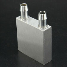 Aluminum Water Cooling Block 40*40mm Liquid Water Cooler HeatSink For Laptop CPU