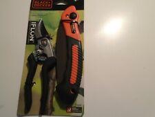 Black & Decker Bd2825 Cutting Combo Pack,bypass pruner. folding saw iflon new