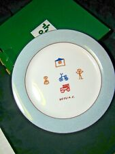 Rare Ucchine Chang Modern Artist Collector Charger Plate in Original Box