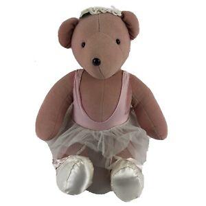 "Vintage Rare VIB Retired North American Bear Co Ballerina Bear 20"""