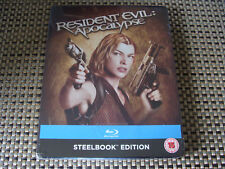 Blu Steel 4 U: Resident Evil - Apocalypse : Limited Edition Steelbook Sealed