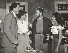 "AUDREY HEPBURN, EDDIE ALBERT & GREGORY PECK ""Roman Holiday"" Original Vint. 1953"