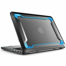 "For Macbook Pro 15"" Inch Case 2016 Heavy Duty Slim Snap on Dual Layer Cover Blue"