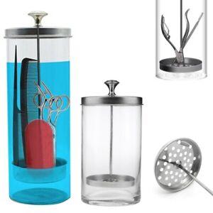 Disinfectant Glass Jar Sterilizer Hair Salons Barber Shops Barbicide 27/41OZ