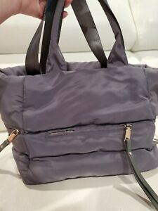 Cocoon Grey Gray Tote Bag Shoulder Bag Nylon. Mint! H