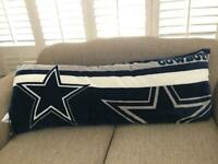 "Dallas Cowboys Body Pillow 20"" X 52"" ( super soft )"