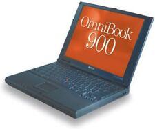Vintage HP OmniBook 900 Slim Laptop 450MHz 6GB Notebook Computer Windows 2000