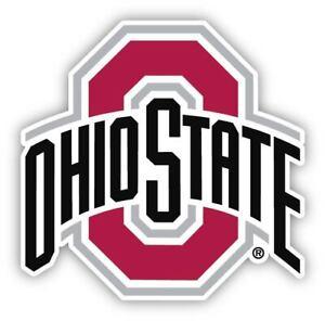 Ohio State University Fan Sticker Decal Buckeyes Choose Your Size