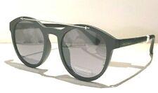 CALVIN KLEIN CK19562S WOMENS MATTE BLACK ROUND SUNGLASSES NEW