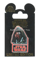 Disney Parks Star Wars Force Awakens KYLO REN Countdown #6 LE Trading Pin