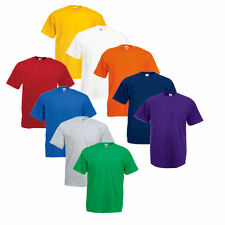 5er Sets Fruit of the Loom T-Shirt  Shirts Shirt  S M L XL XXL XXXL