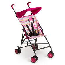 Hauck Reise Buggy Sun Plus - Disney - Minnie Geo Pink - Kinderwagen Mädchen