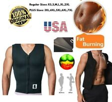 Men Waist Trainer Vest for Weight loss Hot Neoprene Sauna Shaper Workout Shirt
