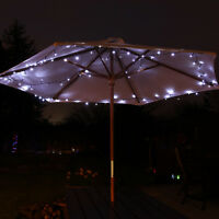 SOLAR POWERED OUTDOOR GARDEN PARTY CAMPING WEDDING PARTY FAIRY STRING LED LIGHTS