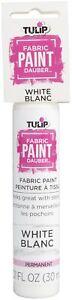 Tulip Fabric Paint Dauber 1oz-White