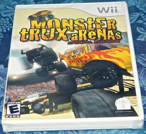 MONSTER TRUX ARENAS SPECIAL EDITION NINTENDO WII VIDEO GAME FACTORY SEALED NEW!
