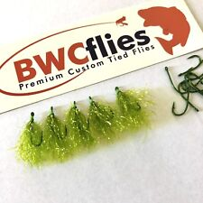 BWCflies Weed Fly 5 Bright On Gamakatsu Hooks