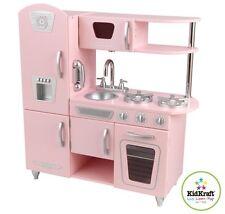 Wooden Retro Pink Vintage Kitchen by Kidkraft
