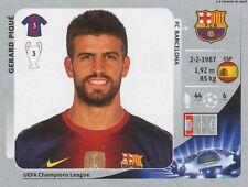 N°447 GERARD PIQUE # ESPANA FC.BARCELONA STICKER PANINI CHAMPIONS LEAGUE 2013