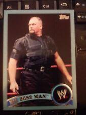 2011 Topps WWE Wrestling BLUE #99 Big Boss Man #d 1546/2011