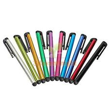 10PCS Mix Metal Pen Stylus Touch Screen for iPad 1 2 3 Mini iPhone 5S 5 4 4S