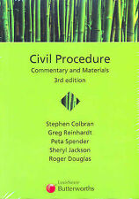 Civil Procedure: Commentary and Materials by Stephen Colbran (Paperback, 2005)