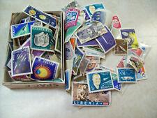 Large Lot 240 Space Postage Stamps used, unused