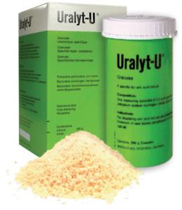 1 Box URALYT-U GRANULES 280 GM MADAUS FOR RENAL STONEs