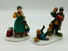 Dept 56 Christmas in the City Don't Drop the Presents set 2 Mib Nos Retired