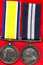 2 REPLICA WW1  MEDALS . STRUCK FOR THE DISPLAY OF WAR MEDALS.DSM & BWM ...