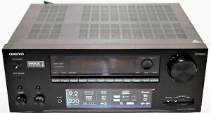 Onkyo TX-NR797 Home Theater Receiver w/ Dolby Atmos 4kUltra HD,HDR 9.2 CHANNEL