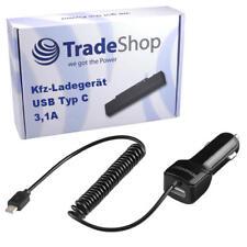 Kfz Auto Ladekabel USB Typ C Spiralkabel für Microsoft Lumia 950, 950 Dual SIM