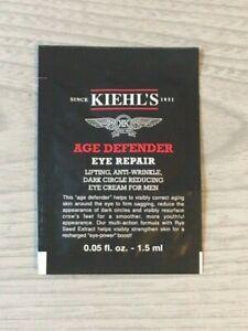 New Sealed Kiehl's Age Defender Eye Repair Sample 1.5ml Anti Wrinkle Cream Men