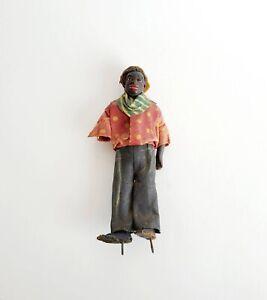 Rare Early 1920s Vargas Wax Figurine, Black Americana, Male Figurine Wax Doll