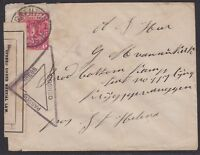 South Africa - Cape of Good Hope 1901 cover sent to Boer War Prisoner of War