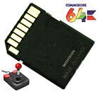Commodore 64 C64 Computer Vintage SD2IEC 1541 Floppy Memory Card Games Collectio