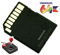 Commodore 64 C64 Retro Computer Vintage Console Video Games SD2IEC Floppy 1541