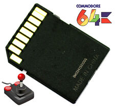 Commodore 64 C64 Computer Vintage SD2IEC 1541 Floppy Memory Card Games Collectio