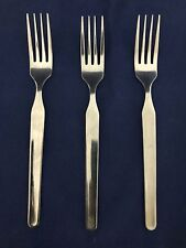 IKEA Stainless Steel Salad Dessert Forks IKE10 Set of 3