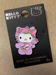 "LOUNGEFLY SANRIO Hello Kitty in Fluffy Jumper 1.5"" Enamel Pin"