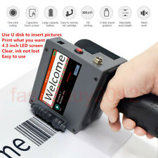 Handheld Inkjet Printer Carton Box Print hand coding machine Bottle Cap Printing
