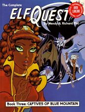 "ELFQUEST Graphic Novel vol 3 ""Captives of Blue Mountain"" 1988 SC scarce SIGNED!"