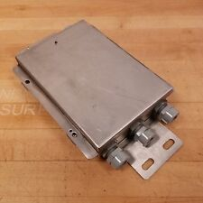 Mettler Toledo 13640300A Analog Junction Box Enclosure with Termial Board - USED
